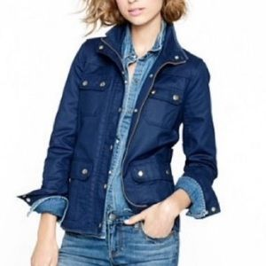 J. Crew The Downtown Navy Field Jacket small